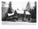 Rainier National Park - National Park Inn View Photograph Posters