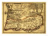 Portugal - Panoramic Map Print