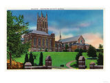 Rochester, New York - Exterior View of Colgate Divinity School Posters by  Lantern Press