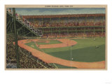 New York, NY - Yankee Stadium During Baseball Game Posters by  Lantern Press