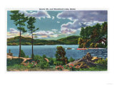 Maine - View of Squaw Mountain and Moosehead Lake Posters