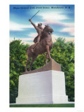 Manchester, New Hampshire - Gen John Stark Statue View Posters by  Lantern Press