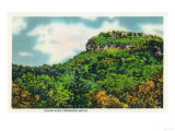 New Hampshire - Franconia Notch State Park View of Indian Head Posters