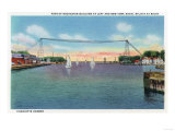 Rochester, NY - Charlotte Harbor View of Rochester Port and NY Naval Militia Posters by  Lantern Press
