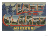 Missouri - Lake of the Ozarks Posters by  Lantern Press