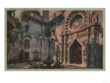 Riverside, CA - View of Mission Inn Courtyard Posters