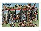 Missouri - The Ozarks Posters by  Lantern Press