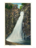 New Hampshire - White Mountains National Forest View of Glen Ellis Falls Poster