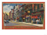 New York, NY - Greetings From Chinatown NYC Poster