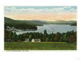 Lake Winnipesaukee, Maine - View of the Weirs Posters by  Lantern Press