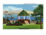 Portland, Maine - Fort Allen Park View of Casco Bay Posters