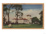 Hotel Del Monte and Archery Lawn - Monterey, CA Posters by  Lantern Press