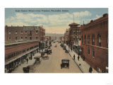 Pocatello, ID - View of E. Center St. from Viaduct Posters