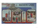 Ohio - Buckeye Lake Posters by  Lantern Press