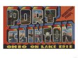 Port Clinton, Ohio - Lake Erie Poster