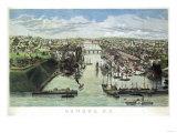 Oswego, New York - Panoramic Map Posters by  Lantern Press