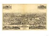 Longwood, Florida - Panoramic Map Posters