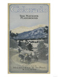 Colorado - The Nation's Playground Posters by  Lantern Press