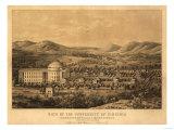 Virginia - University of Virginia Posters by  Lantern Press