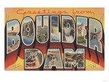 Nevada - Boulder Dam Posters by  Lantern Press