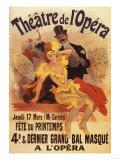 Paris, France - 4th Masked Ball at Theatre de l'Opera Promotional Poster Posters par  Lantern Press