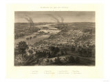 Richmond, Virginia - Panoramic Map Posters