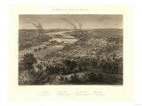 Richmond, Virginia - Panoramic Map Posters