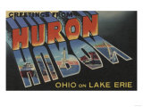 Huron, Ohio - Lake Erie Posters by  Lantern Press