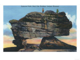 Lookout Mountain, ID - Balanced Rock in Rock City Gardens Posters