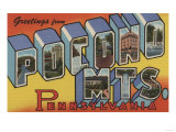 Pennsylvania - Pocono Mountains Poster