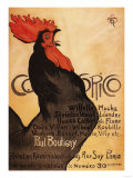 Paris, France - Periodical Cocorico Rooster Promotional Poster Poster par  Lantern Press