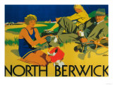 North Berwick, Scotland - Golf Coast Promotional Poster Poster by  Lantern Press