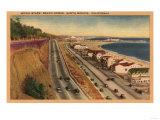 Santa Monica, California - Beach Residences of the Movie Stars Posters