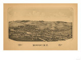 Newport, New York - Panoramic Map Posters by  Lantern Press