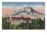 Mount Hood, Oregon - View of the New Timberline Lodge No.2 Posters