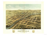 Northfield, Minnesota - Panoramic Map Print