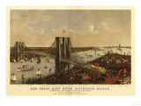 New York City, New York - Panoramic Map Print
