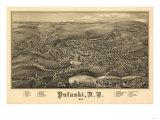 Pulaski, New York - Panoramic Map Posters
