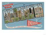 Bloomington, Indiana - Indiana University Posters by  Lantern Press