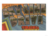 Virginia - Sky-Line Drive Posters