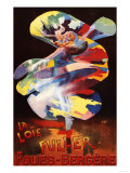 Paris, France - Loie Fuller at Folies-Bergere Theatre Promotional Poster Posters by  Lantern Press