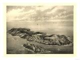Mongegan, Maine - Panoramic Map Posters