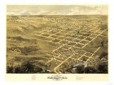 Pleasant Hill, Missouri - Panoramic Map Posters by  Lantern Press