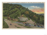 Newfound Gap, TN - Laura Spelman Memorial Monument Posters