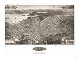 Peeksill, New York - Panoramic Map Posters by  Lantern Press
