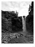 Snoqualmie Falls, Washington - View from Below Falls Poster by  Lantern Press
