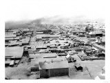 Bird's eye view of Nome, Alaska with Snow Photograph - Nome, AK Posters