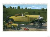 South Bend, Indiana - Largest Car in World, Studebaker Proving Grounds Posters by  Lantern Press