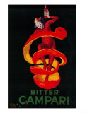 Bitter Campari Vintage Poster - Europe Prints by  Lantern Press