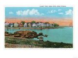 Salem, Massachusetts - Salem Willows View of Juniper Point and Salem Neck Print by  Lantern Press